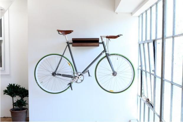 Suporte decorativo para bicicletas