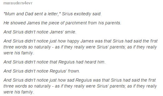 Marauders|| I really want to know more about this era it's so unfair ...