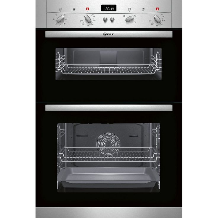 Buy Neff U12S53N3GB Double Built In Electric Oven - Stainless Steel   Marks Electrical