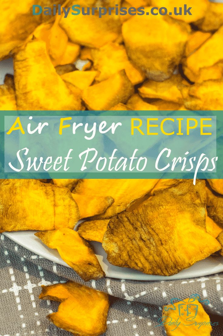 how to airfryer sweet potato chips
