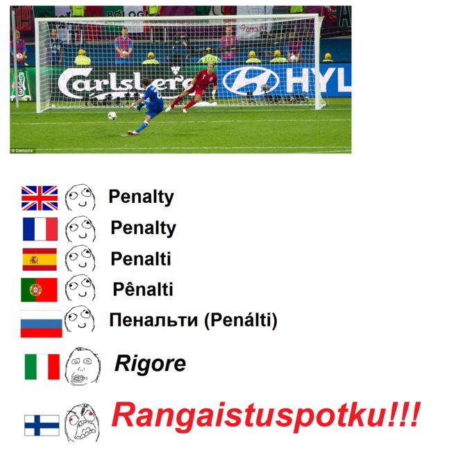 Say it in Finnish. ;)