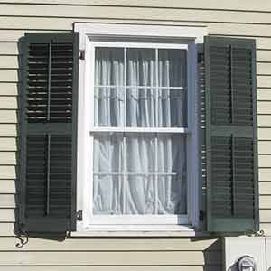Top 25 ideas about window shutters on pinterest vinyls vinyl shutters and window for Vinyl vs wood exterior shutters