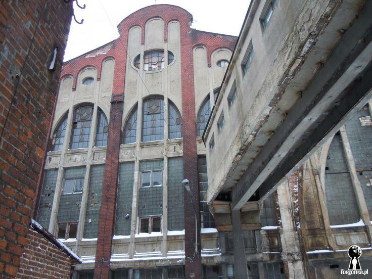 Forgotten.pl Opuszczone Miejsca / Zakłady Przemysłu Bawełnianego Uniontex II, Łódź, lodzkie
