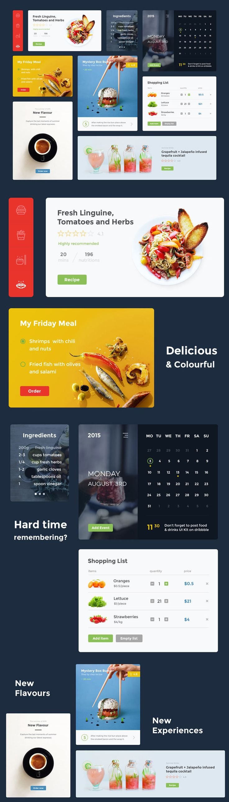 free food ui kit