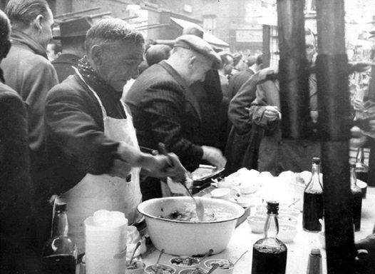 Jellied Eels in Whitechapel