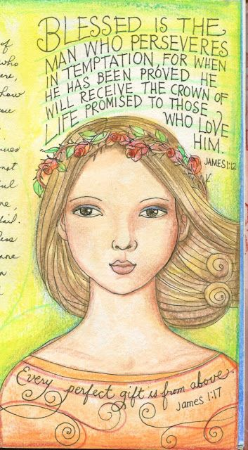 Em - how about scripture on some of your portraits?...a pinner said.:) I think this is beautiful!