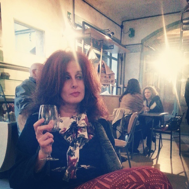 The RedHead, Rossana Diana, in a nice place in Milano, Cascina Cuccagna