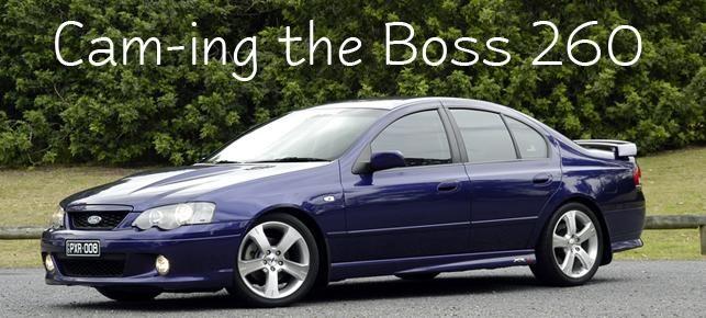 AutoSpeed - Cam-ing the Boss 260