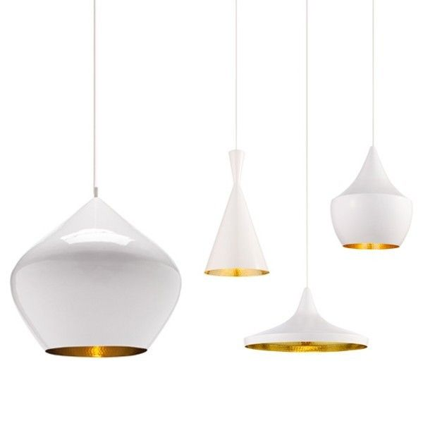 High/Low: Hammered Brass Lamps Tom Dixon vs. Crate & Barrel