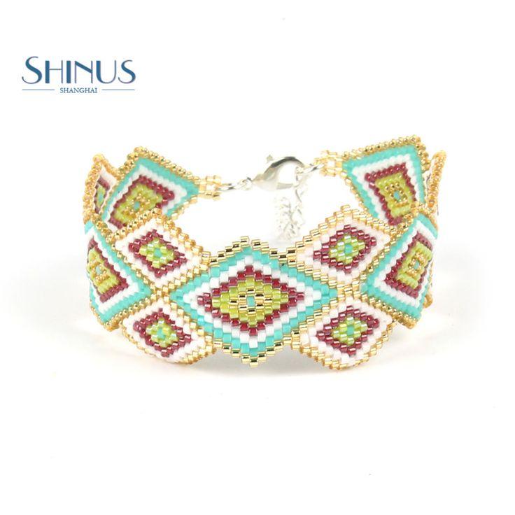 Shinus Bracelets For Women Beaded Bracelet Wrist Seed Beads Friendship Bijoux Femme Pulseira Handmade Fashion Yoga Jewelry