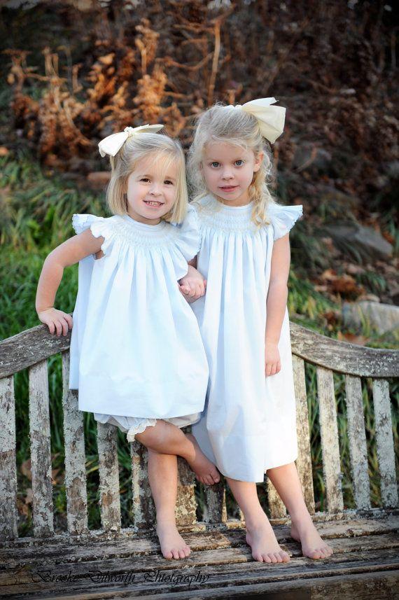 Smocked Bishop Dress by BradleyJane