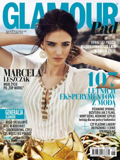 Finał Top Model 3: Marcela Leszczak na okładce Glamour, fot. Mateusz Stankiewicz
