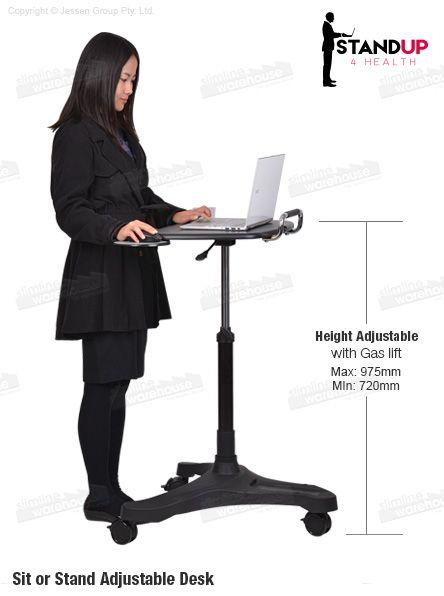 Sit Stand Workstation ¦ Slimline Warehouse