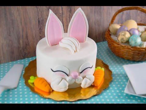 Cómo Decorar un Pastel de Conejo de Pascua con FONDANT
