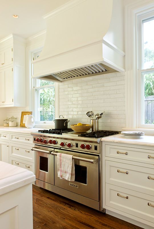 Anne Decker Architects | Selected Works | Renovations | Cleveland Park Renovation Kitchen Hood