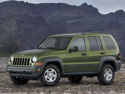 Jeep Liberty Sport (2004 – 2007). Dont know whats so sporty about it though lol