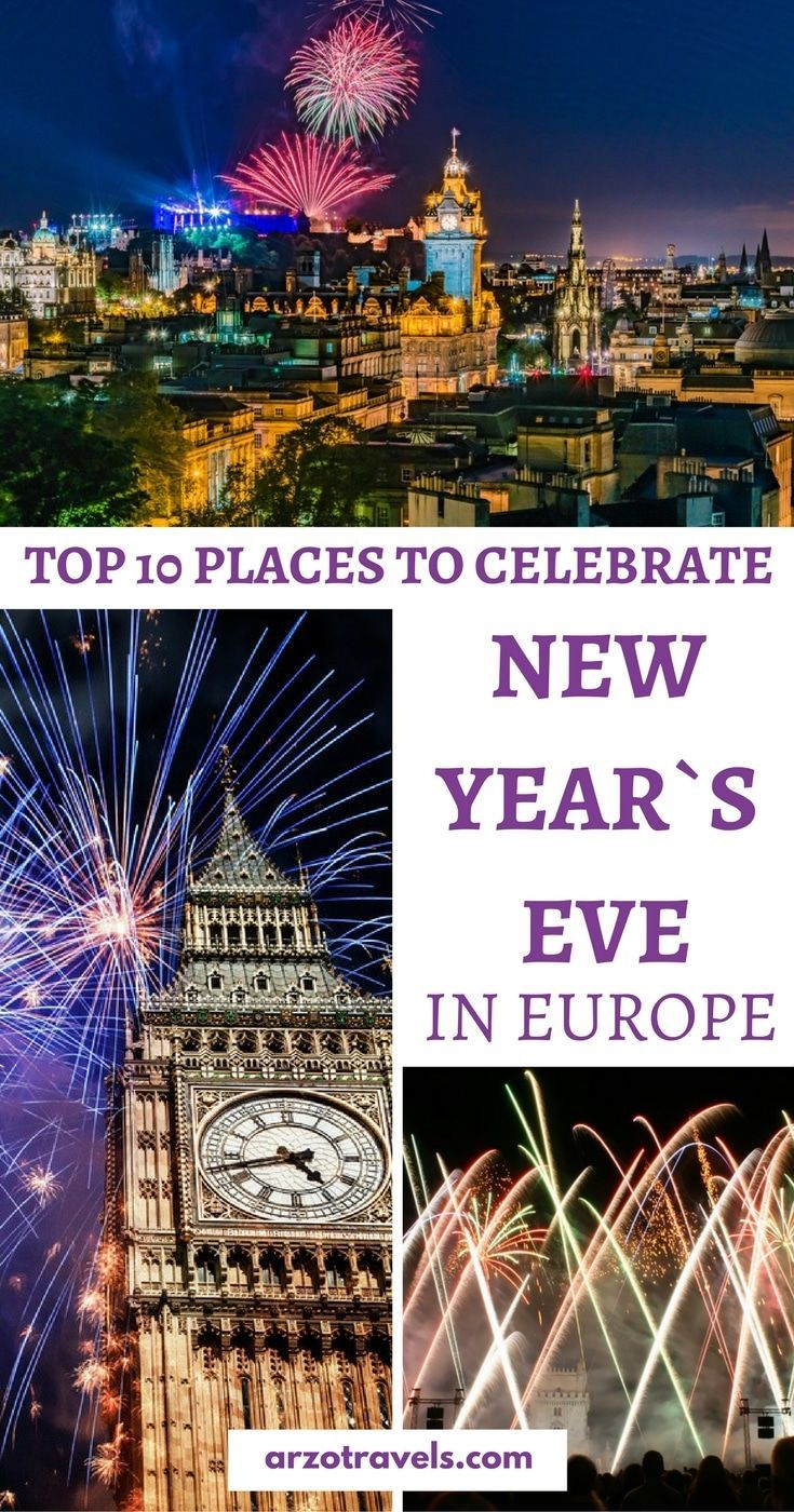 Best Places To Celebrate New Year S Eve In Europe Travel Cool