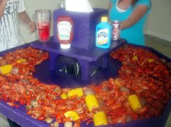 Coolers • Custom Built Crawfish Tables--- Colors Of Customers Choice - Louisiana Sportsman Classifieds, LA