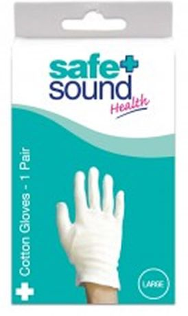 Safe and Sound  Health Safe And Sound Health Cotton Gloves Large 1 Pair Safe And Sound Health Cotton Gloves Large 1 Pair: Express Chemist offer fast delivery and friendly, reliable service. Buy Safe And Sound Health Cotton Gloves Large 1 Pair online from Express Chemist t http://www.MightGet.com/january-2017-11/safe-and-sound-health-safe-and-sound-health-cotton-gloves-large-1-pair.asp