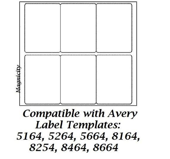 Avery Label Template 8164 Awesome 60 3 5 X 4 Labels 10 Sheets Shipping Labels By Avery Label Templates Label Templates Avery Shipping Labels