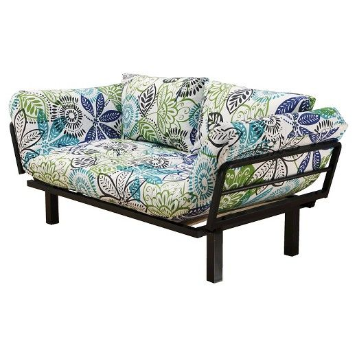 Christopher Knight Home Spacely Black Metal Futon -Dream Catcher Lounger : Target