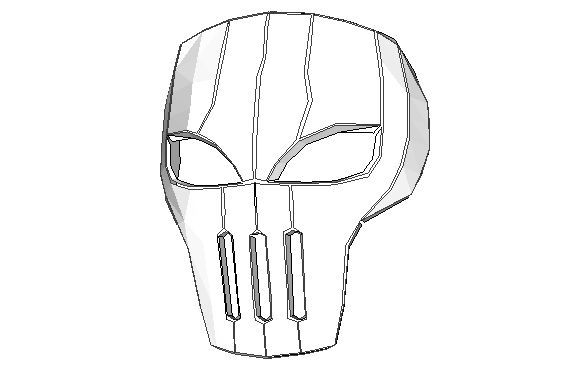 12 best pepakura images on pinterest paper crafts papercraft and teen titans life size red x mask papercraft free template download http publicscrutiny Images