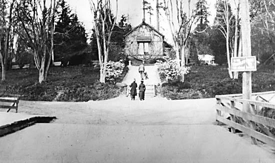 Old Park Ranger cottage in Stanley Park