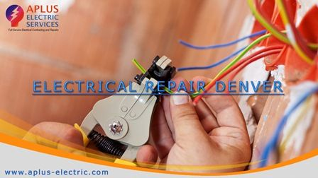 Electrical repair denver is your big hub for all your electrical needs monetarily and locally. With an overall specialization and top quality results make certain to benefit their services for all your business Electrical contractors needs in Denver.  http://goo.gl/UineX0