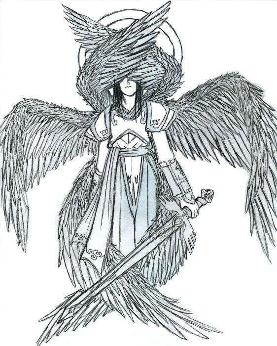 "Seraphim:  Highest order of Angels.  Dictionaries - Easton's Bible Dictionary - Seraphim Seraphim [H] [S]  mentioned in Isaiah 6:2 Isaiah 6:3 Isaiah 6:6 Isaiah 6:7 . This word means fiery ones, in allusion, as is supposed, to their burning love. They are represented as ""standing"" above the King as he sat upon his throne, ready at once to minister unto him. Their form appears to have been human, with the addition of wings. (See ANGELS .) This word, in the original, is used elsewhere only of…"