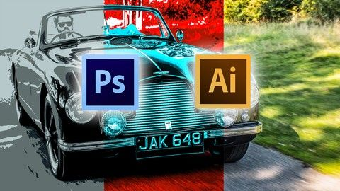 Make Money Create stylised graphics from images in Photoshop | Learn to work like a professional with these tips/tricks and techniques for Creating a Stylised image in Photoshop