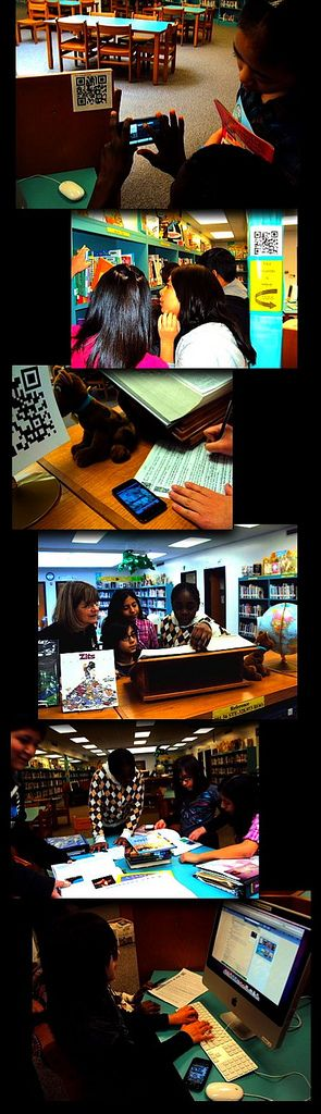 The Daring Librarian: QR Code Quest: a Library Scavenger Hunt