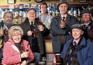 Still Game- a Scottish TV sitcom about two Glaswegian pensioners Victor and Jack and their friends/neighbours: Navid, Isa, Winston, Tam and Boaby the Barman. Broadcast 2002-2007.