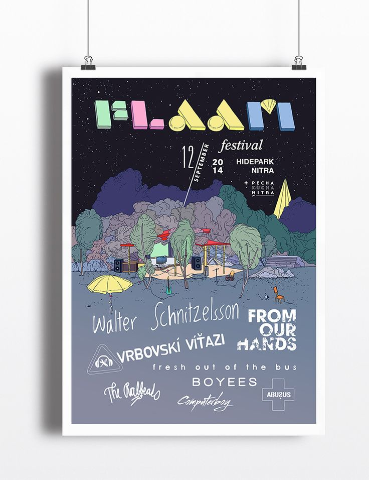flaam poster on behance