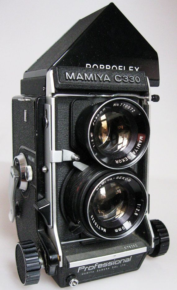 Beautiful condition medium format 120 camera...and it's Mamiya which makes it better. :)