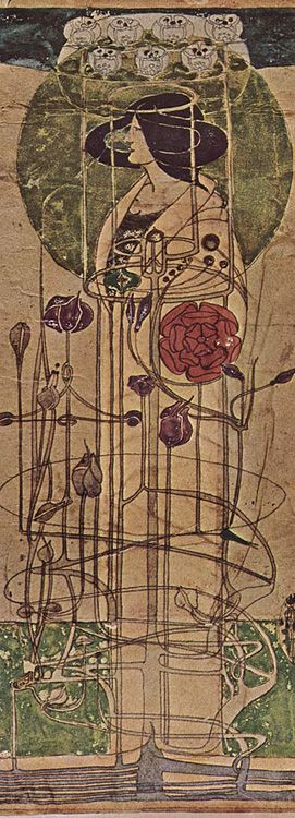 The Glasgow School - Charles Rennie Mackintosh