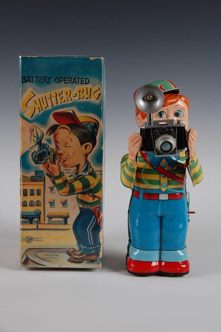 Shutter Bug battery operated boy with a camera