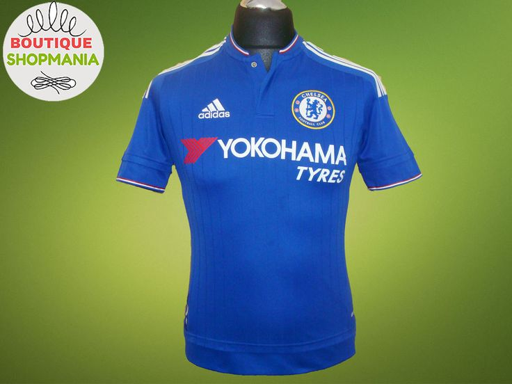 CHELSEA HOME 2015-2016 (Boys-L) ADIDAS Football Shirt Jersey Maglia Camisa  #ADIDAS #CHELSEA