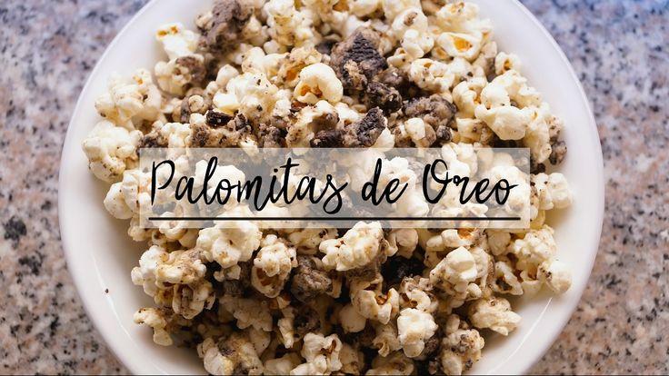 ¡Palomitas de Oreo! 🍿 - Francisca Mejía