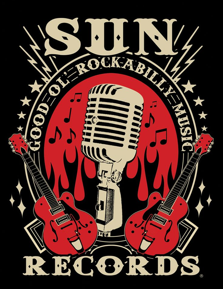 Modern Grease Clothing and Accessories Co. - Sun Records Electric Mic Tshirt, $24.99 (http://www.moderngrease.com/sun-records-electric-mic-tshirt/mens/)
