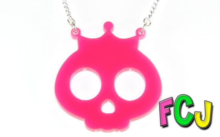 Princess Skull Necklace