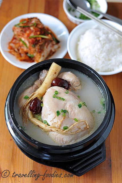 삼계탕 Samgyetang – Korean Ginseng Chicken Soup