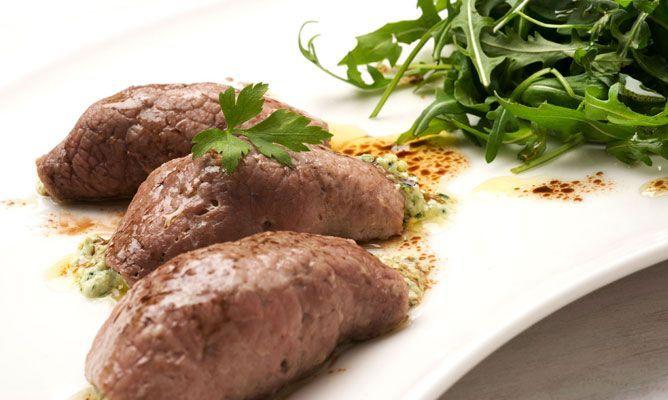 Rollitos de carne