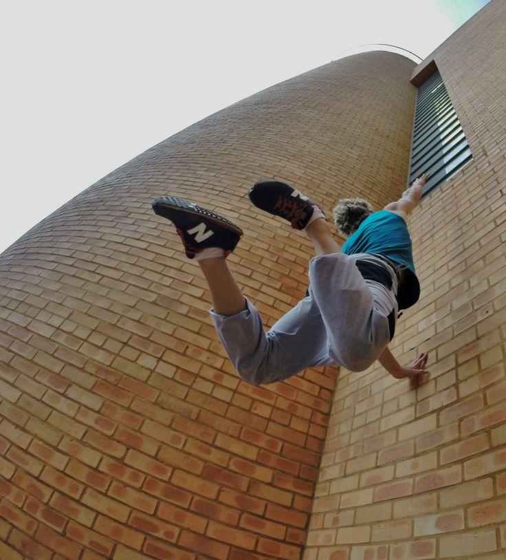 Wall Runs in Mandela Square Sandton Johannesburg