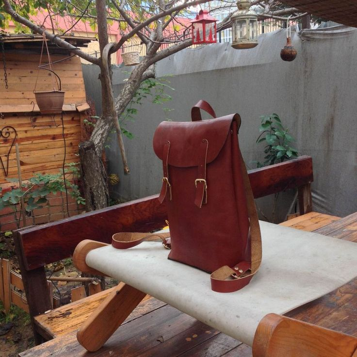 Agarapati Leather Backpack