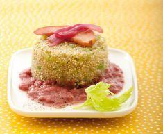 Mini sformati di quinoa e sedano con crema di mele e cipolle rosse - Tutte le ricette dalla A alla Z - Cucina Naturale - Ricette, Menu, Diet...