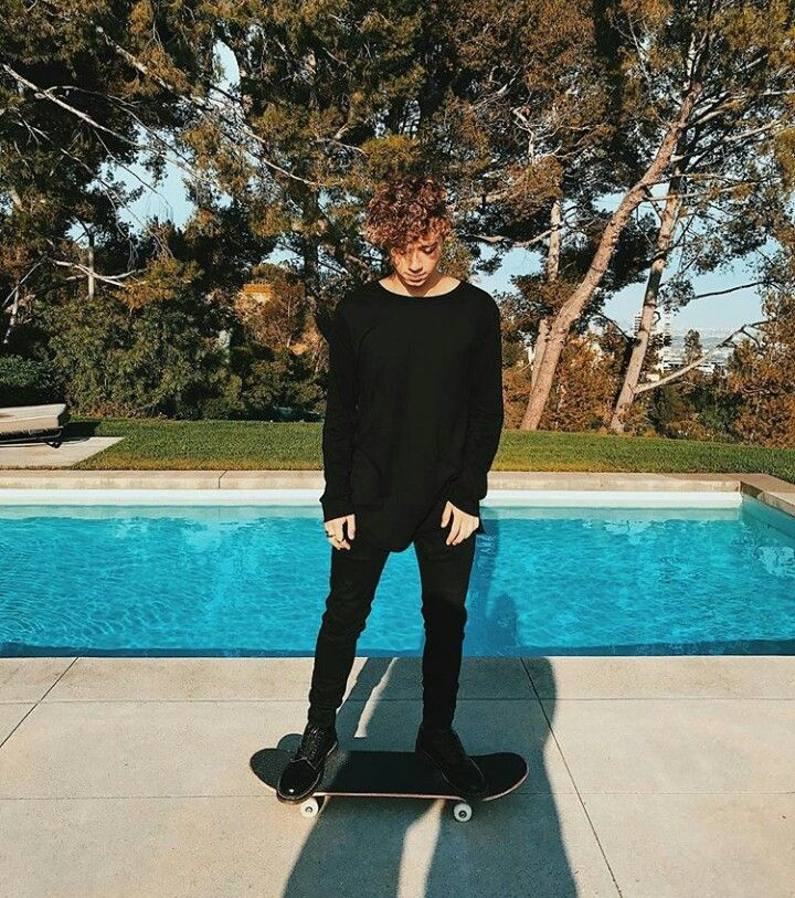 """"""" Always skateboarding and wearing all black what's new"""" ~ Jack Avery 2k17"""