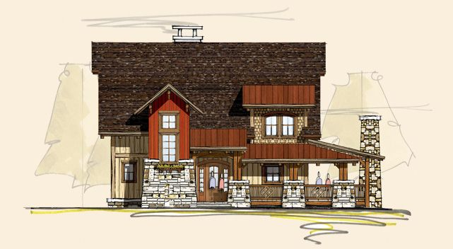 45 best big twig homes llc log home plans images on for Rustic barn designs