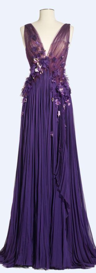 Purple... J Mendel Spring 2013 Cindy L.-O'Donnell/Love2BeadbyCindy via lorna onto Fashion Designers