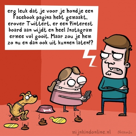 Cartoon jeugd en sociale media | Mijn Kind Online