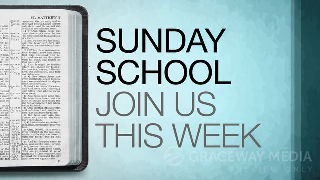 """Sunday School"" is a Title Still containing a Title Layout and two unique Content Layouts. Download Jpegs in both 16:9 (widescreen) and 4:3 (standard) format or PowerPoint presentations ready for your bullet points. Take full creative control and download the layered Photoshop file (PSD)."